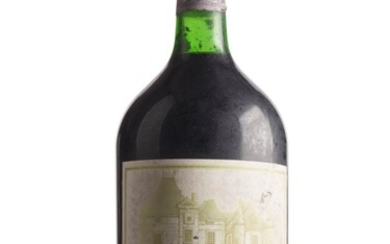 Château Haut-Brion 1982, Pessac (Graves), 1er cru classé Badly corroded and damaged capsule, damp affected, faded and damaged label Level base of neck