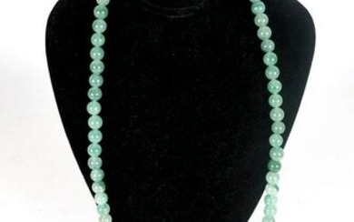 Chinese Jade Necklace, Pendant and Japanese Pin