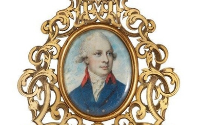 Circle of George Engleheart, British 1752-1829- Portrait...