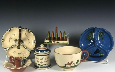 Collection Of Six Torquay Pieces