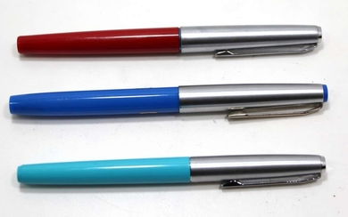 Collection of 3 Fountain Pens made by Pelikan