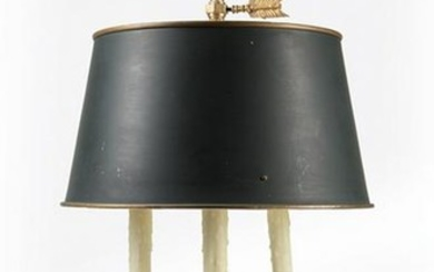 French Gilt Bronze Bouillotte Lamp