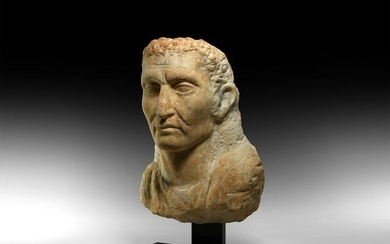 Graeco-Roman Marble Bust of a Noble