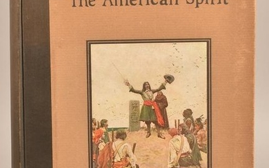 Howard Pyle's Book of the American Spirit 1923