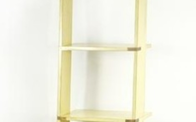 Industrial design ladder bookcase by authentic models,