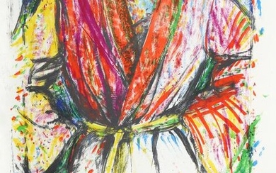 Jim Dine, Olympic Robe, Lithograph on Arches