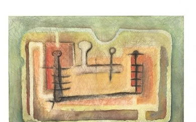Latin American School (20th Century), Abstract Figural