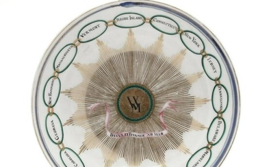 Martha Washington Tea Service Bowl, 19th Century