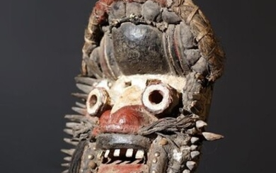 Mask - Wood - Guerre - Ivory Coast