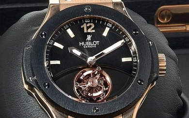 "O - HUBLOT Big Bang Tourbillon ""Solo Bang"", ref. 305, n° 686617, n° 34/50"