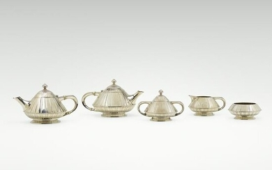 Reed & Barton, five-piece coffee and tea service