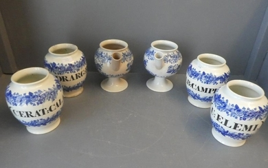 Spode & Copeland jars, with black italics (see photos for la...