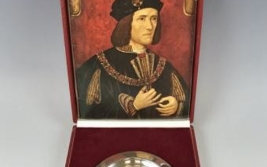 Sterling Silver Richard III Commemorative Charger