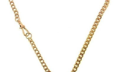 TIMELESS 14k Yellow Gold Watch Chain