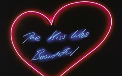 TRACEY EMIN   MY FAVOURITE LITTLE BIRD; AND THE KISS WAS BEAUTIFUL