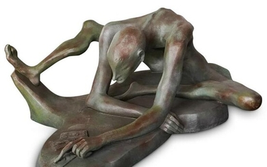 Theodore Gall (b.1941) Surrealist Signed Sculpture