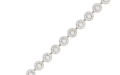 Tiffany & Co. Platinum and Diamond Bracelet