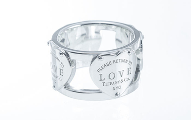 Tiffany & Co Return to Tiffany Love Wide Ring@ Silver - Ring