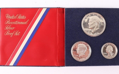 (-), United Bicentennial Silver Proof Set, USA 1776-1976....