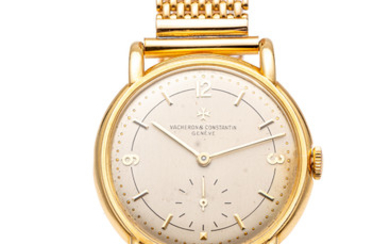 VACHERON CONSTANTIN, REF. 4555, YELLOW GOLD