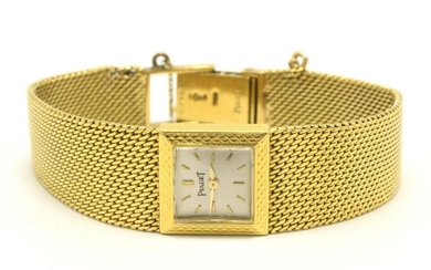 Vintage Piaget 18Kt Yellow Gold Watch