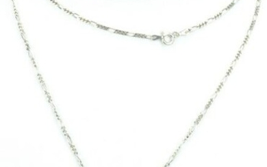 Vintage Sterling Silver & Onyx Necklace