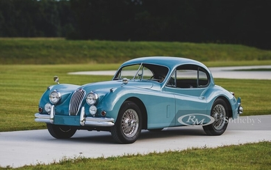 1955 Jaguar XK 140 MC Fixed Head Coupe