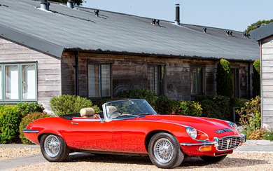 1973 Jaguar E-Type Series III V12 Roadster, Registration no. DBY 737M Chassis no. 1S2566