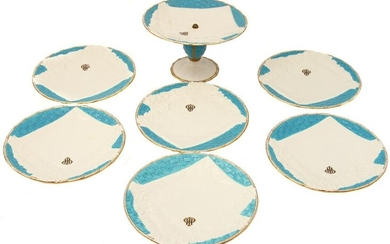 A MINTON, LONDON PORCELAIN DINNER SET, 19TH C.