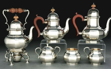 ADIE BROS. ENGLISH STERLING SILVER TEA & COFFEE SERVICE