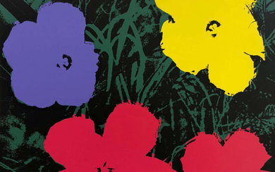Andy Warhol (1928-1987) (after) Flowers (Sunday B. Morning) (set of ten)