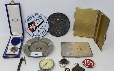 Assorted items belonging to H L 'Don' Williams, including a ...