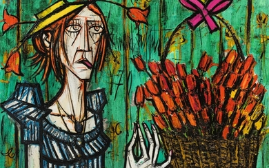 BERNARD BUFFET | FOLLE ET BOUQUET