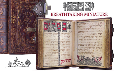 Beautiful Manuscript on parchment - Order of Blessings &...