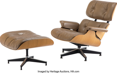 Charles Eames (1907-1978), Lounge Chair #670 and Ottoman #671 (designed 1956)