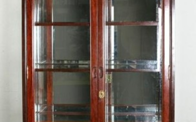Chinese Exotic Wood Display Cabinet