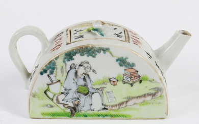 Chinese Famille-rose Tea Pot