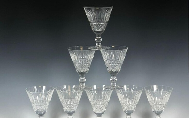 Eight Waterford TRAMORE Pattern Wine Stems
