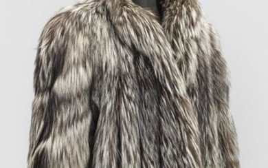 Exclusive vintage fur jacket from the 1980'sLong