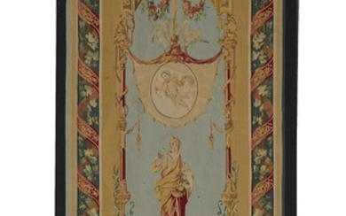 French Aubusson tapestry panel