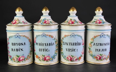 Handpainted Apothecary Jars (1 a.f.) H26cm