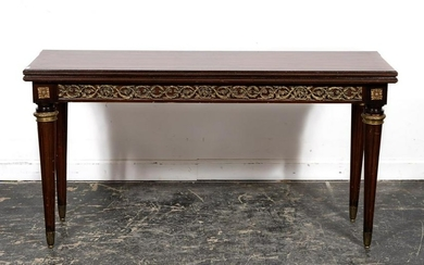 Italian Neoclassical Style Convertible Table
