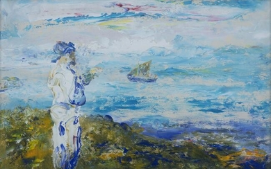 Jack Butler Yeats RHA (1871-1957), Bound for the Islands (1952)