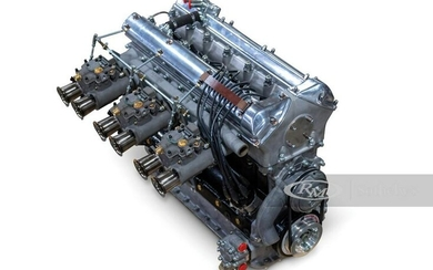 Jaguar D-Type-Specification Engine