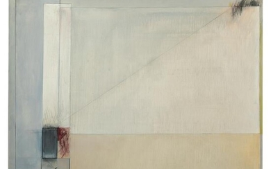 """Joan Goldsmith - """"Atmosphere with Lines & Squares"""""""