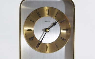Matico Modern Design Brass Mantle Clock