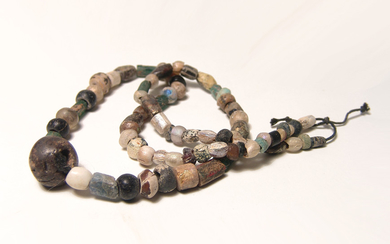 Nice necklace comprised mostly of Roman glass beads
