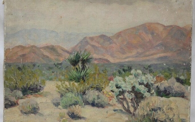 Oil on Canvas Painting Attributed to Lionel Edwards.