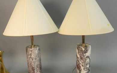 Pair of Walter von Nessen table lamps, American Modern