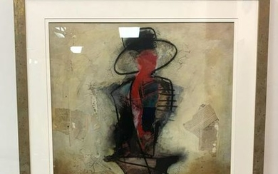 Original Artwork of Mixed Media and Signed by Antonio